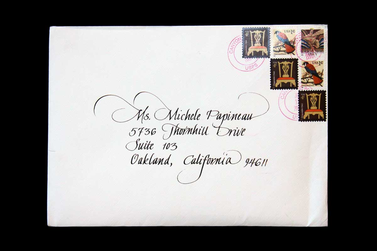 Wedding Envelope #1