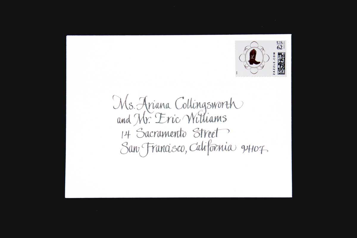 Wedding Envelope #10