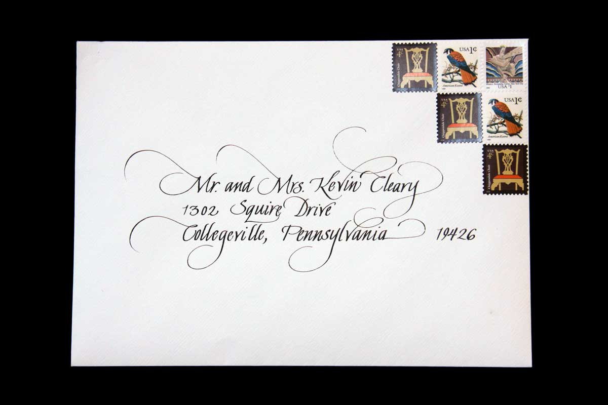 Wedding Envelope #2