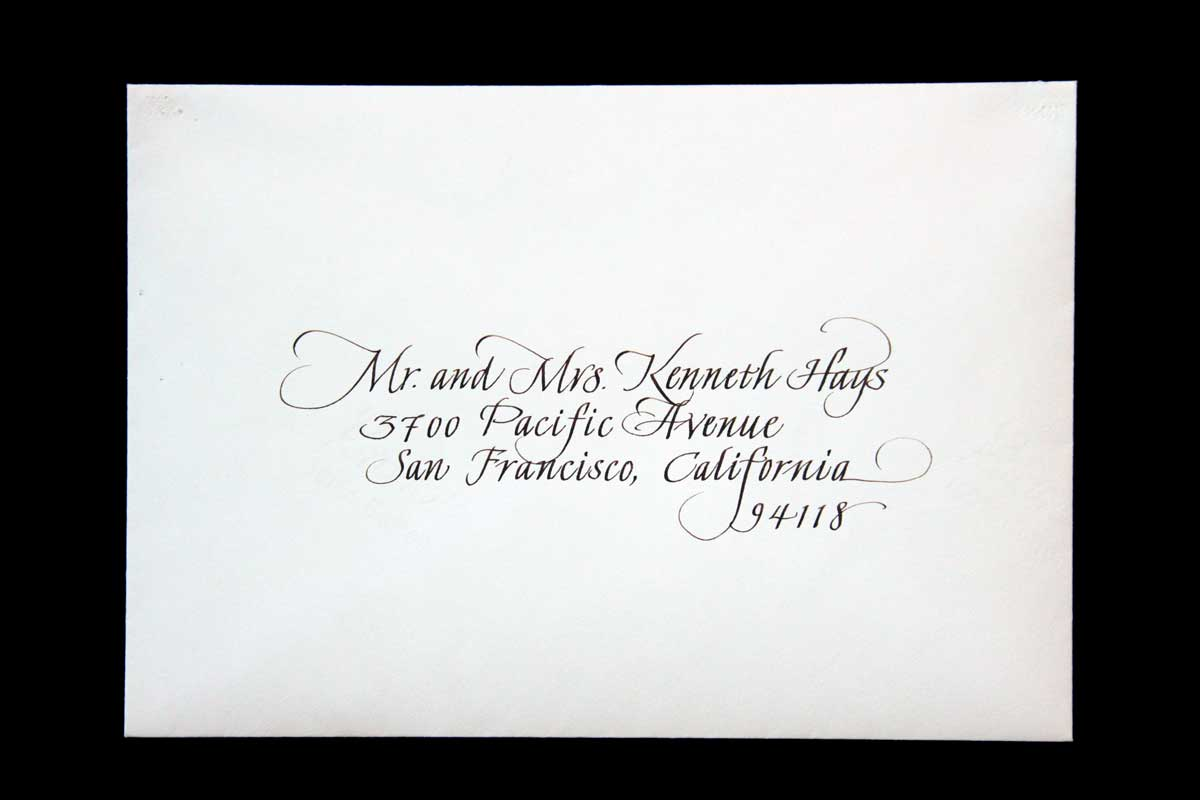 Wedding Envelope #3