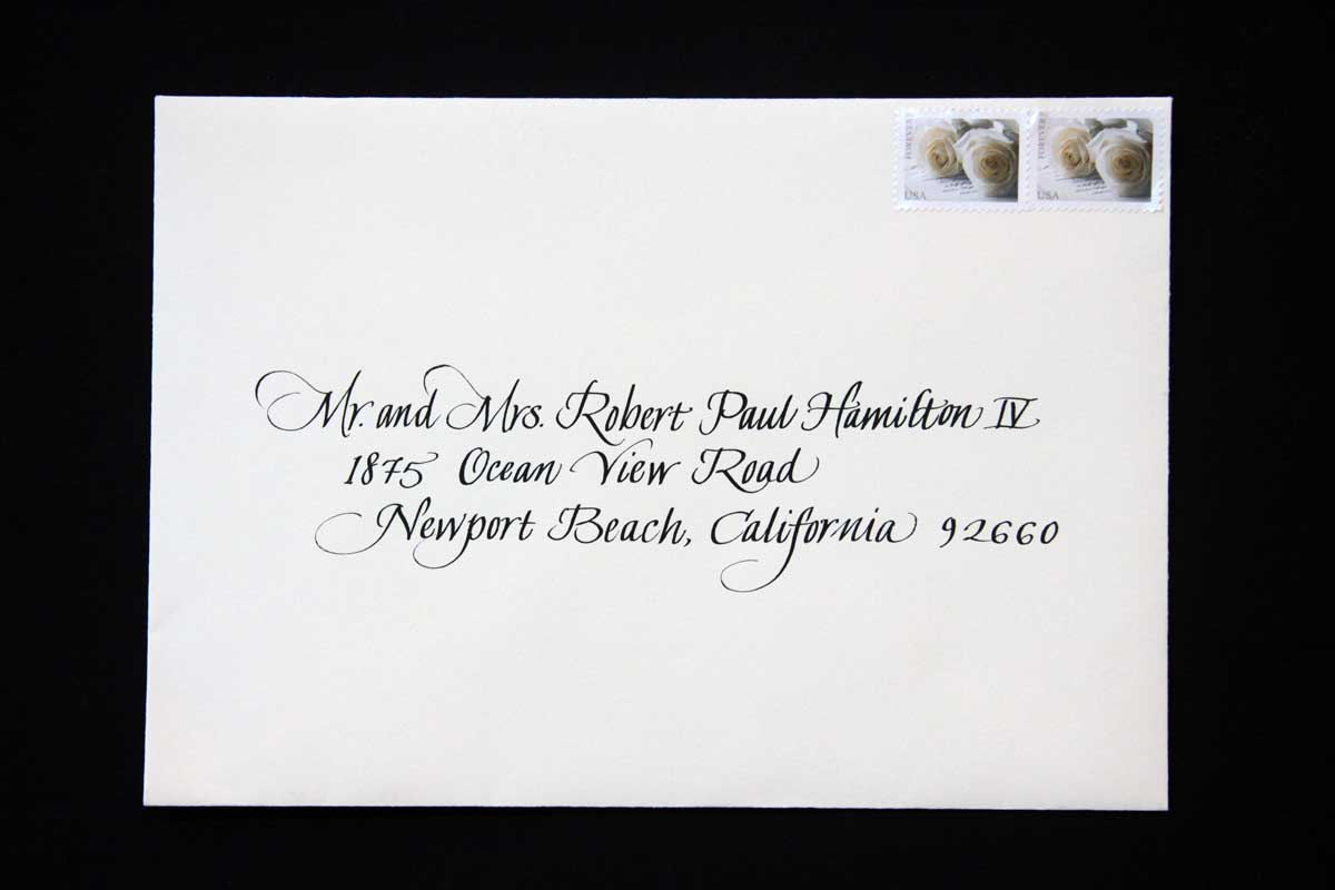 Wedding Envelope #4
