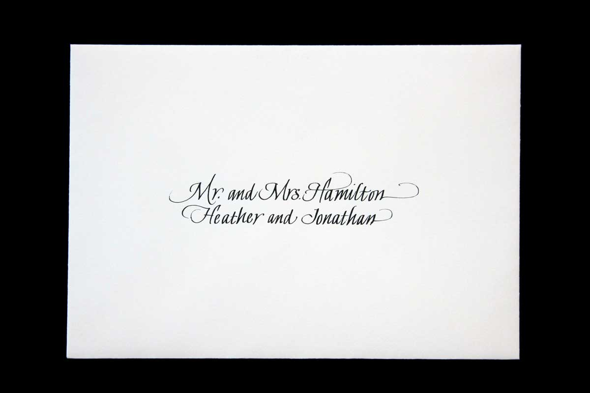 Wedding Envelope #5
