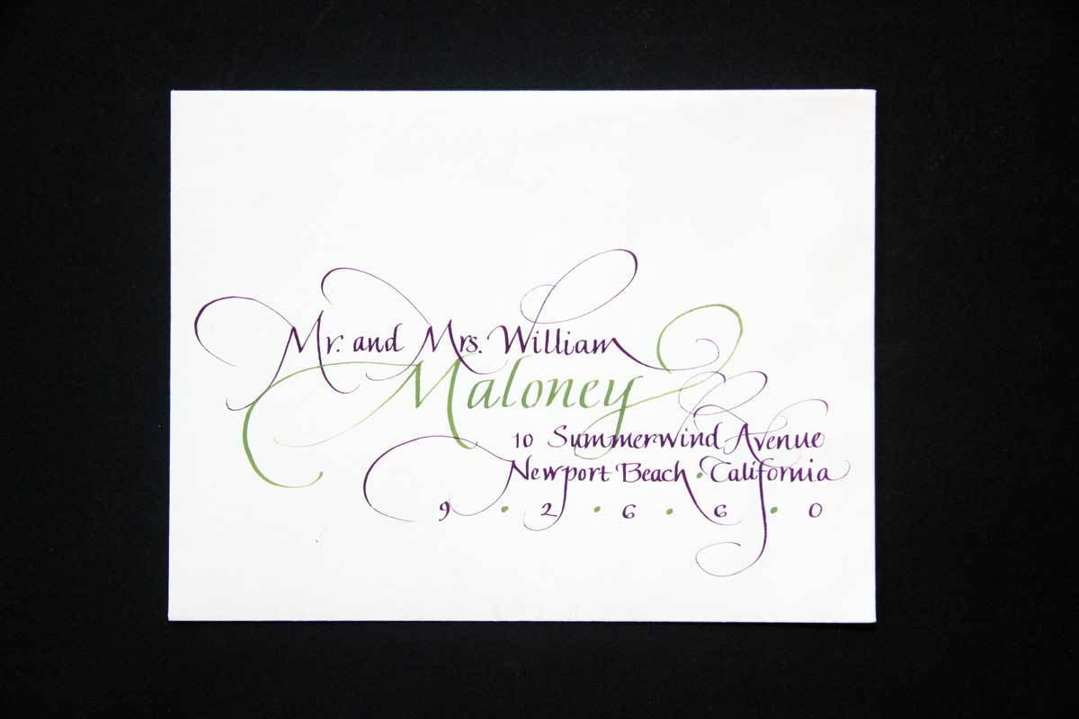 Wedding Envelope #7