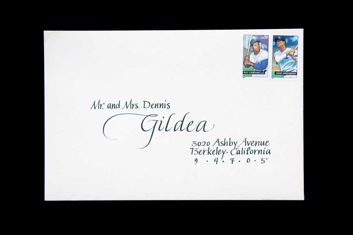 Wedding Envelope #9