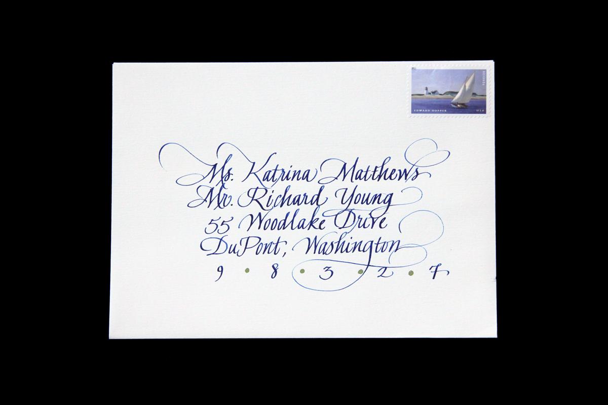 Wedding Envelope #11