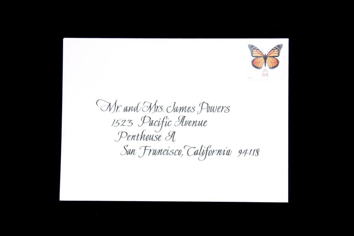 Wedding Envelope #12