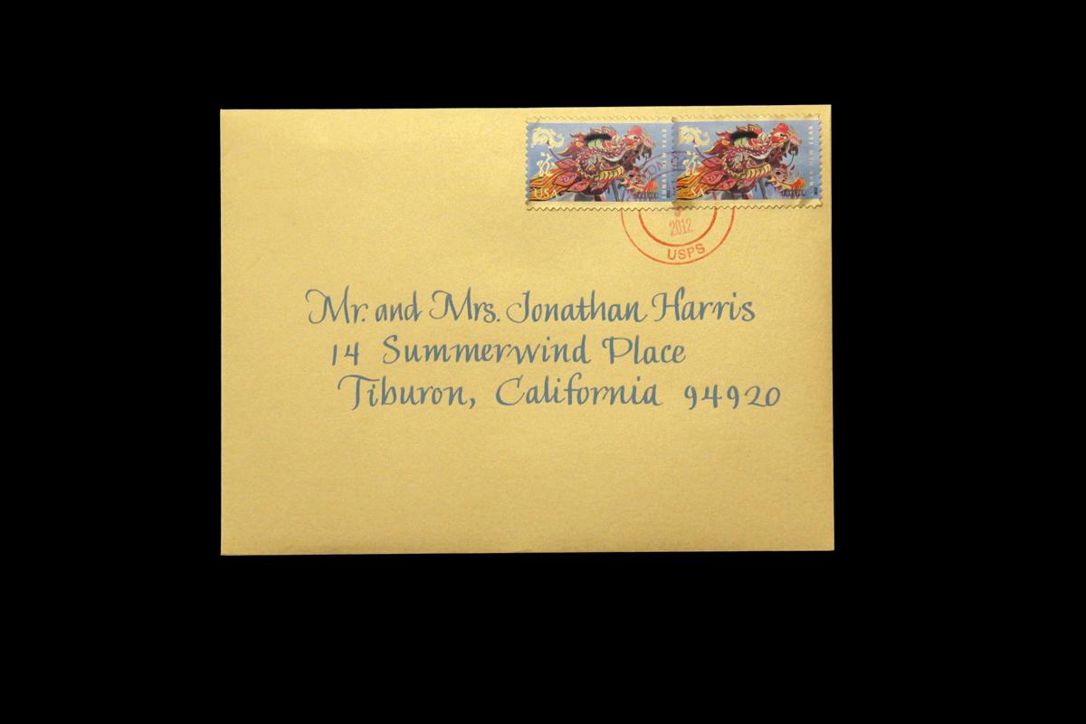 Wedding Envelope #19