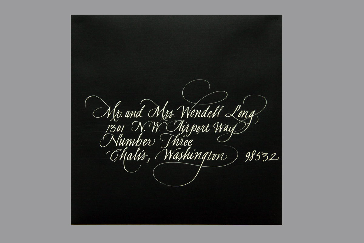 Wedding Envelope #22